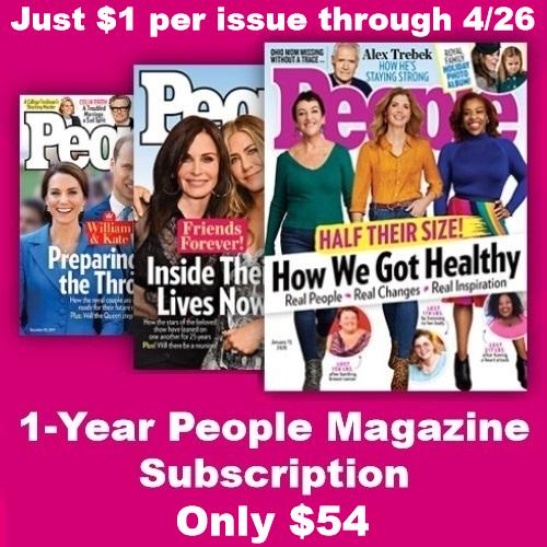 people magazine sale