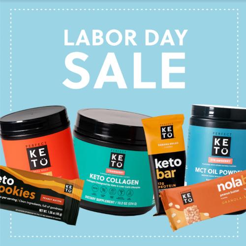 perfect keto labor day sale