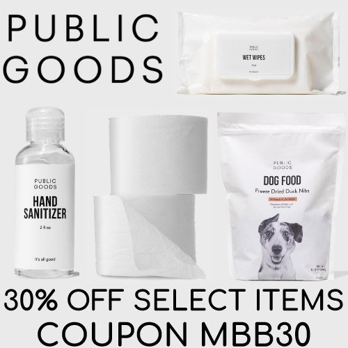 public goods coupon