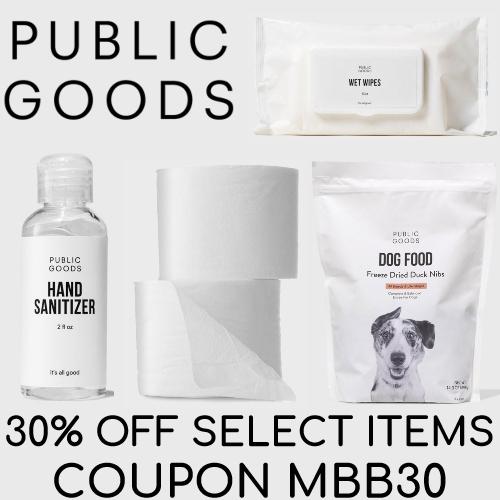 public goods coupon