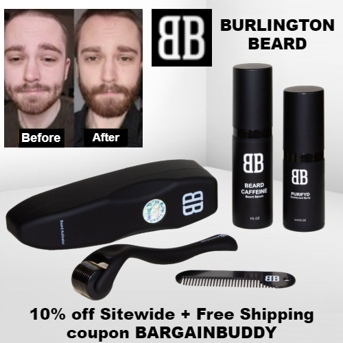 Burlington Beard Coupon