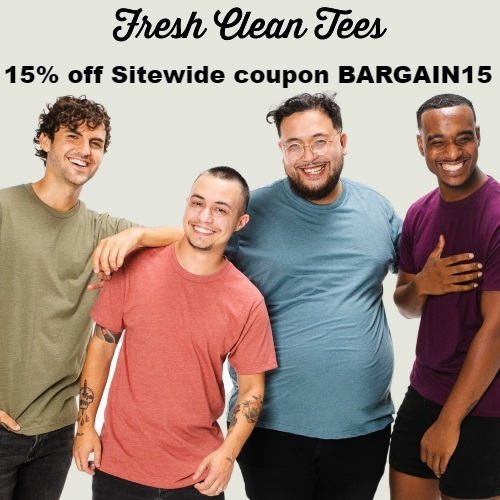 Fresh Clean Tees Coupon