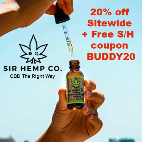 Sir Hemp Co. Coupon