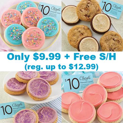 cheryls cookie samplers