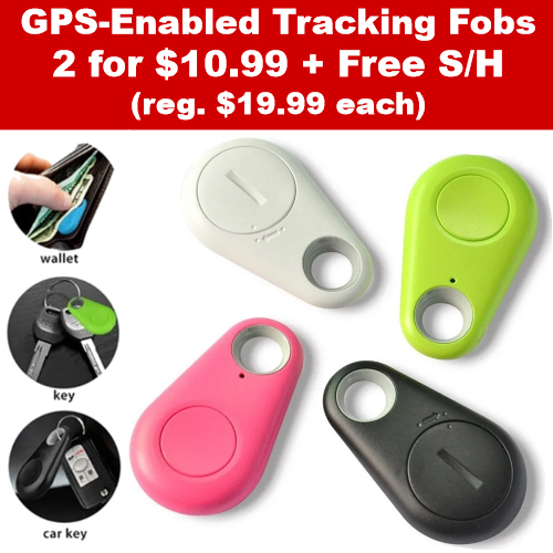 gps tracking fobs