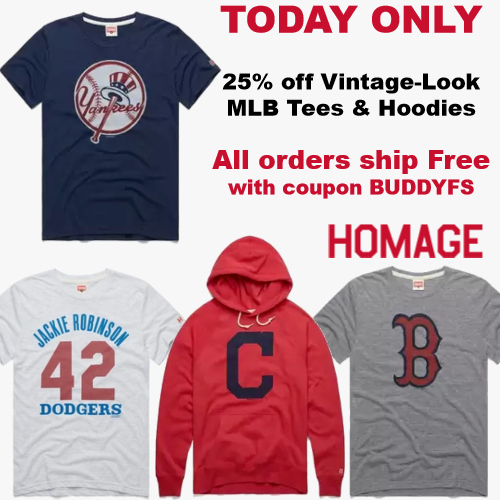 homage mlb sale