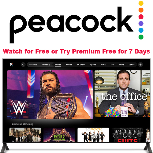 peacock tv is free