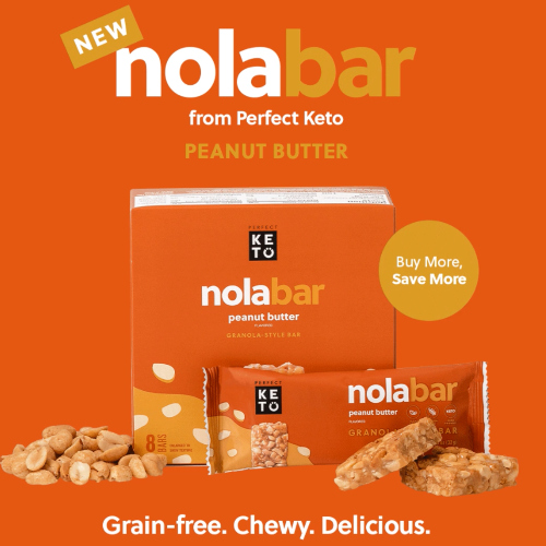 perfect keto nola bar sale