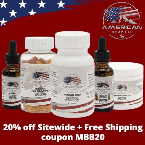 American Hemp Oil Coupon