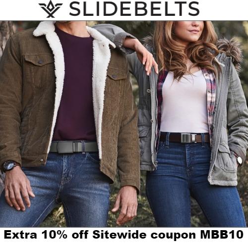SlideBelts Coupon