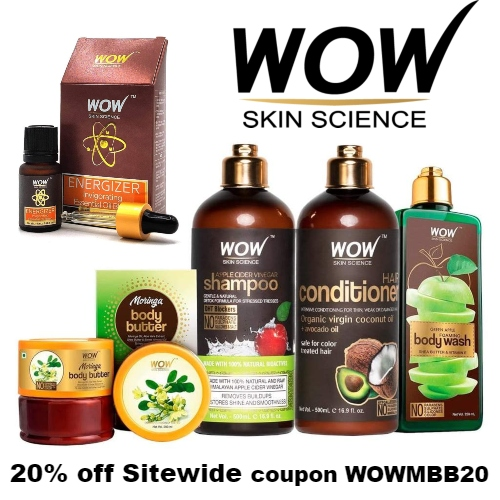 WOW Skin Science Coupon