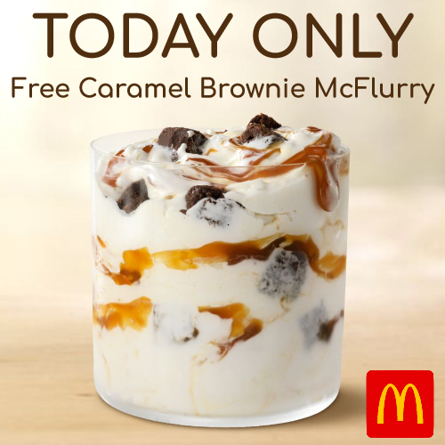 free mcflurry