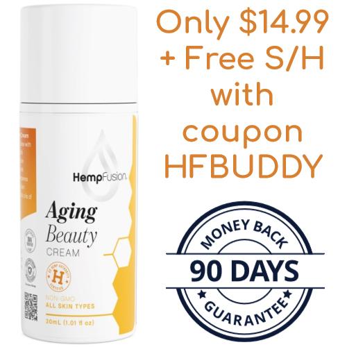 hempfusion anti-aging cream