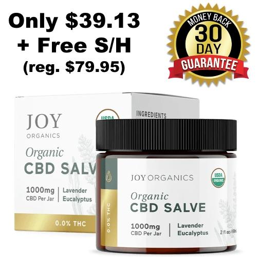 joy organics cbd salve coupon
