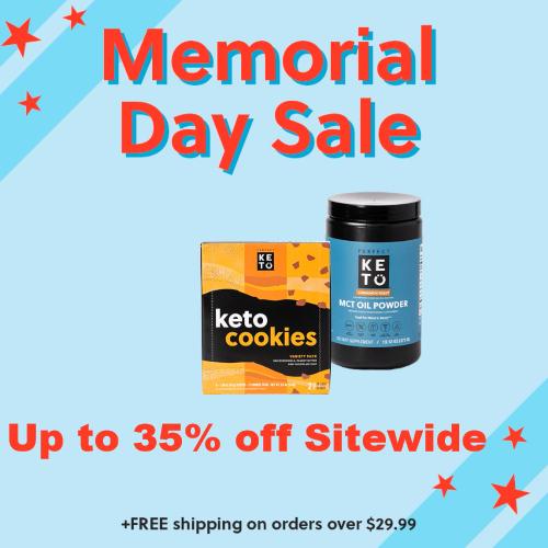 perfect keto memorial day sale