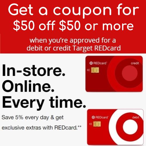target red card promo