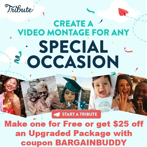 tribute coupon