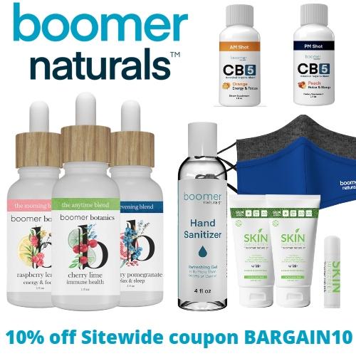 Boomer Naturals Coupon