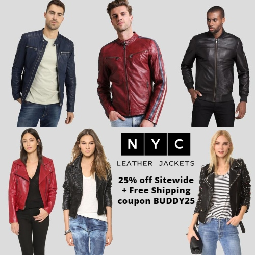 NYC Leather Jackets Coupon