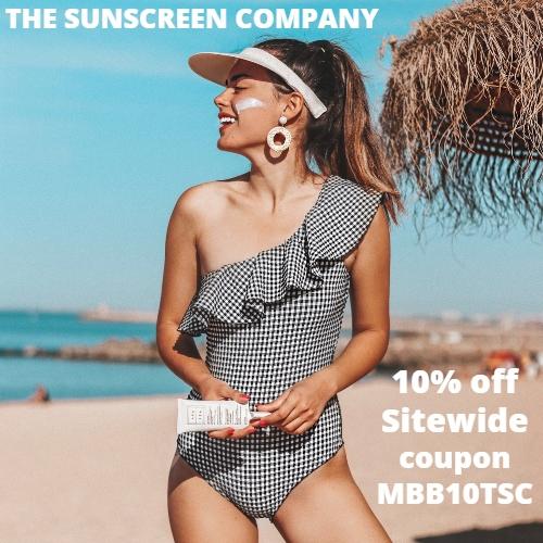 The Sunscreen Company Coupon