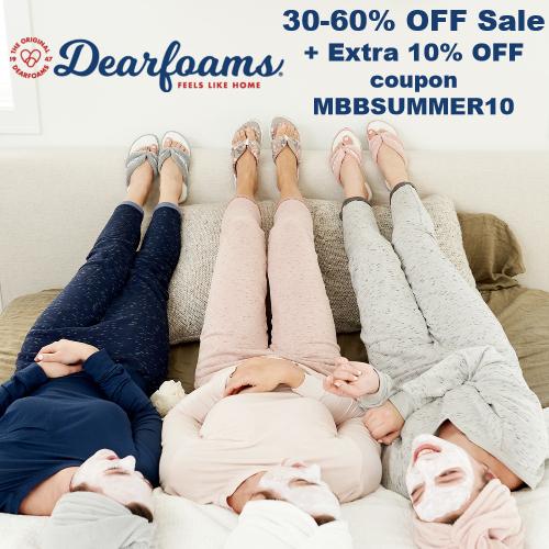 dearfoams coupon