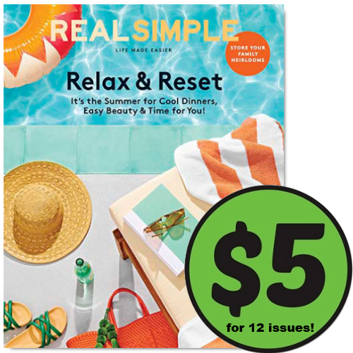 lowest price real simple magazine subscription