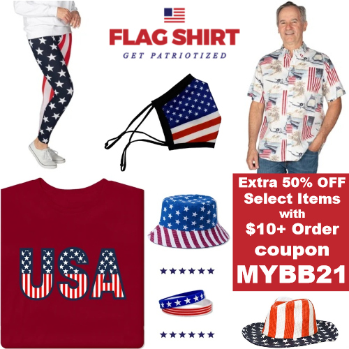 flag shirt coupon