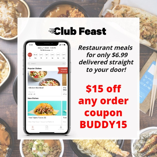 Club Feast Coupon