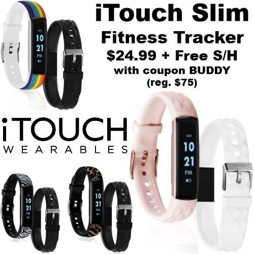 itouch slim fitness trackers coupon