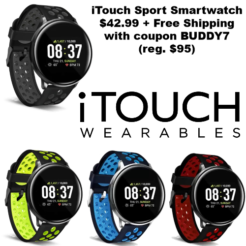 itouch sport smartwatch coupon