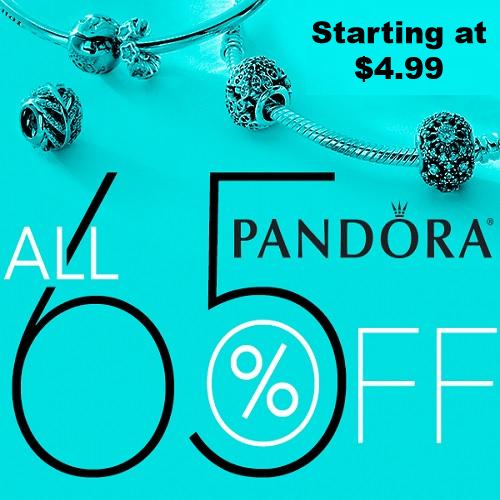 pandora jewelry clearance