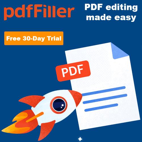 pdffiller trial