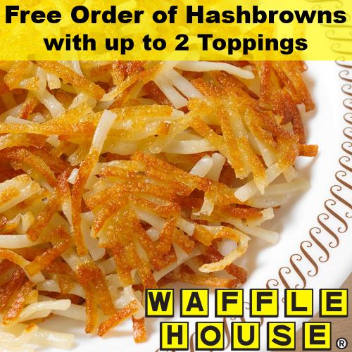 wafflehouse coupon
