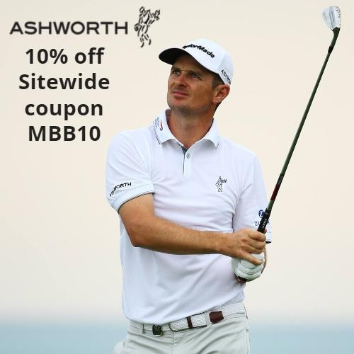 Ashworth Golf Coupon