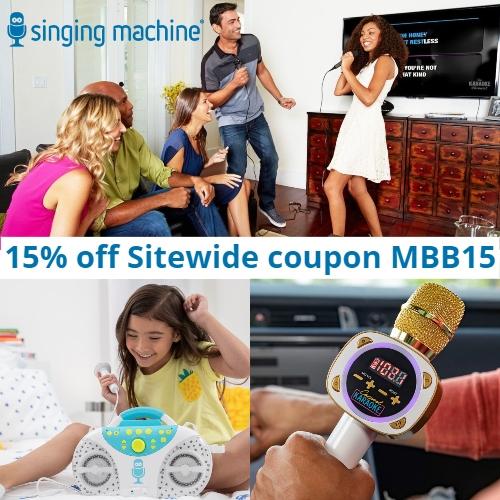 Singing Machine Coupon