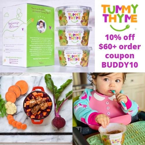 Tummy Thyme Coupon