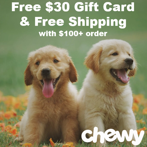 chewy promo