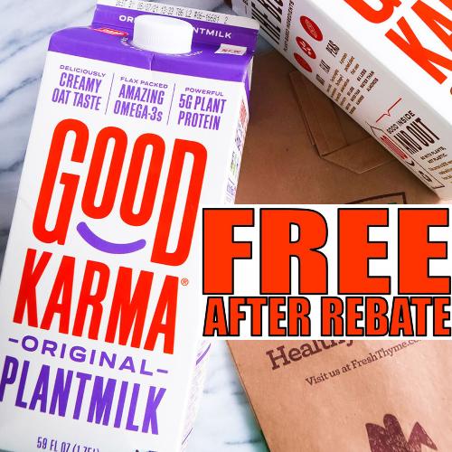 good karma plantmilk rebate