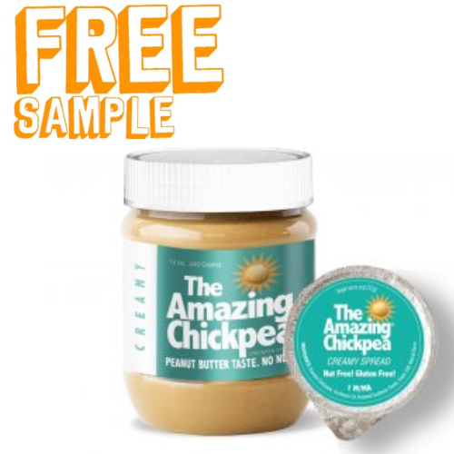 the amazing chickpea free sample