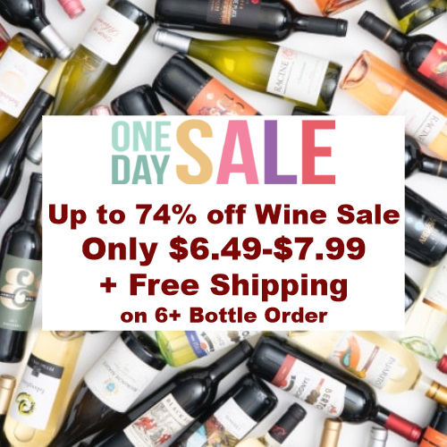 wine clearance sale