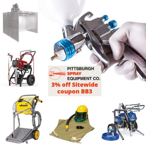 Pittsburgh Spray Equipment Coupon