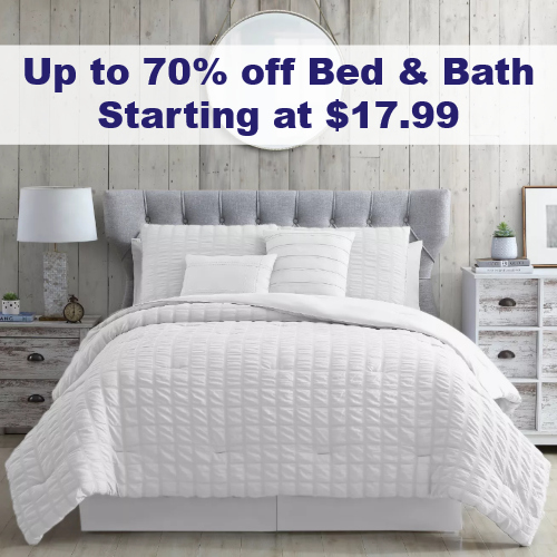 bed bath sale