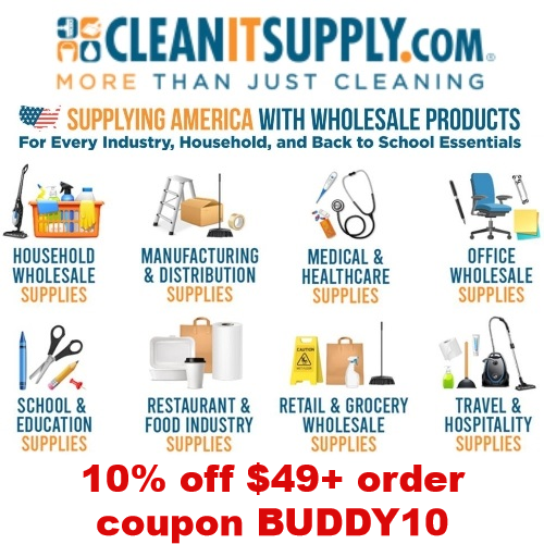cleanitsupply coupon