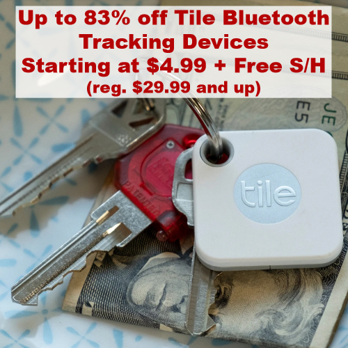 tile tracking devices clearance