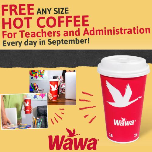 wawa free coffee