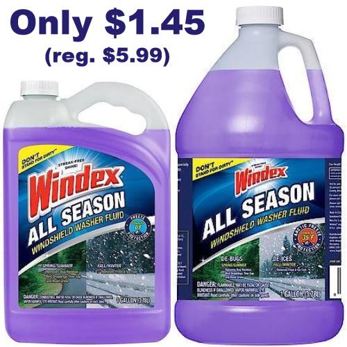 windex windshield washer fluid