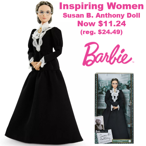 Barbie Susan B Anthony Collector Doll