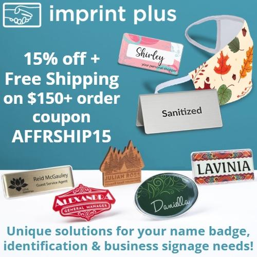 Imprint Plus Coupon
