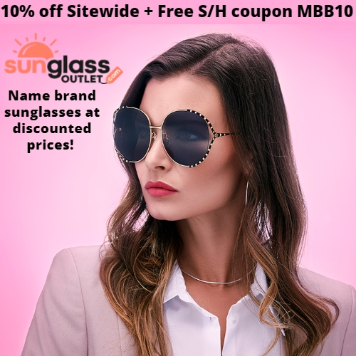 Sunglass Outlet Coupon