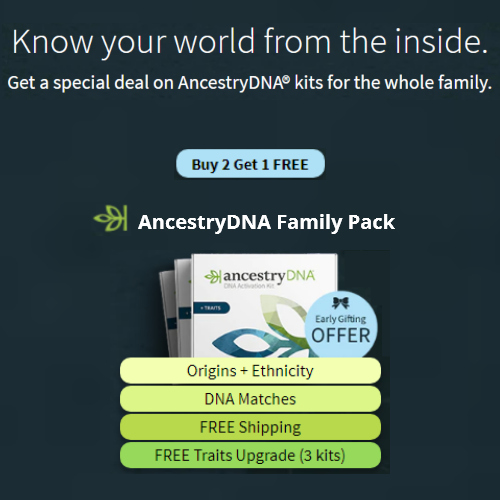 AncestryDNA discount